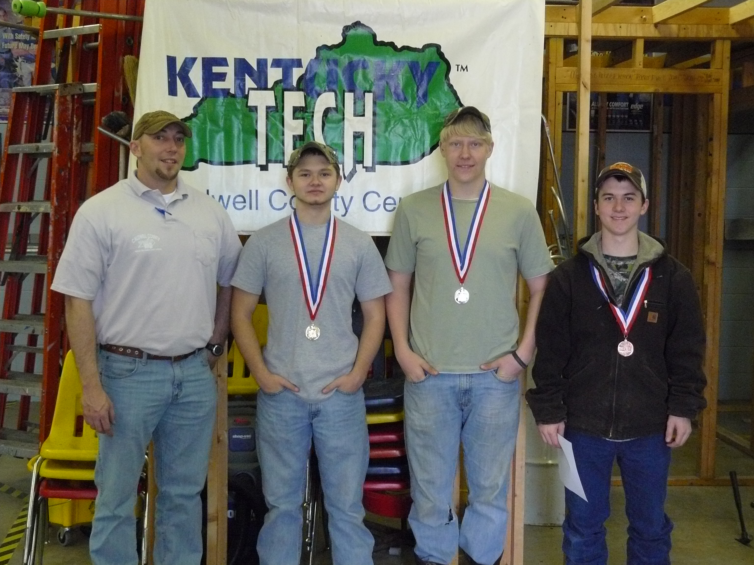 2012 Skills USA District winners